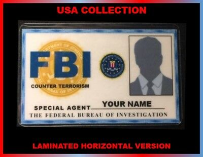 FBI...Federal Bureau of Investigation...USA ID COLLECTOR CARD