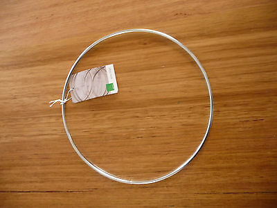 Wire Ring Silver 200mm x 1pc