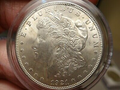1921- Morgan Silver Dollar*** Unc*** Lot 1552***