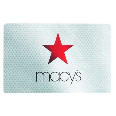 $219 Macy's Gift Card - Makes a great gift or use it yourself to shop at Macys