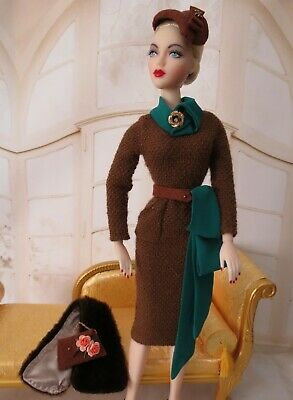 """Francesca Doll Couture ooak Gene Marshall Tribute to """"Warmest Wishes"""""""