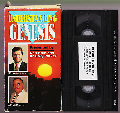 Understanding Genesis VHS Videos Tapes Volume 1 KEN HAM