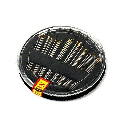 30x Assorted Hand Sewing Steel Needles Kit Embroidery Mending Craft Accessories