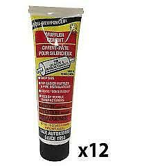 12-TUBES of Yale MC16 Muffler Cement 16 oz-MADE IN USA Excellent Quality