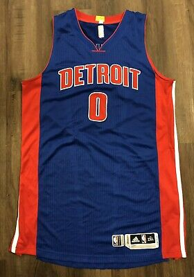 b4f231254 Game Worn Andre Drummond Jersey Detroit Pistons Signed Basketball Adidas