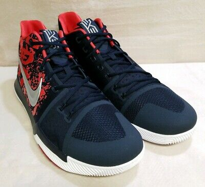48033ae7298 Nike Kyrie 3 Samurai Christmas Mystery Release QS Size 17 852395-900  limited.