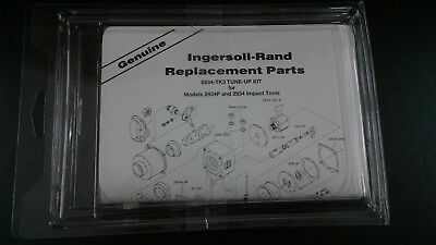 Ingersoll Rand 2934-TK3 Tune Up Kit genuine for 1 inch impact wrench