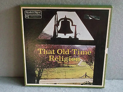 READERS DIGEST THAT OLD TIME RELIGION 1975 RCA Custom Records LP GOSPEL Box Set