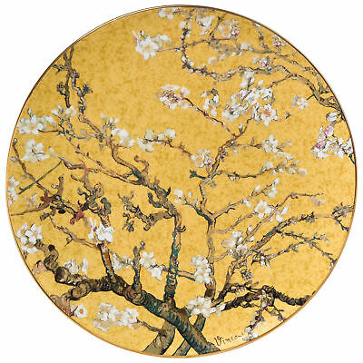 NEW Goebel Vincent van Gogh's 'Almond Tree' Wall Plate Gold