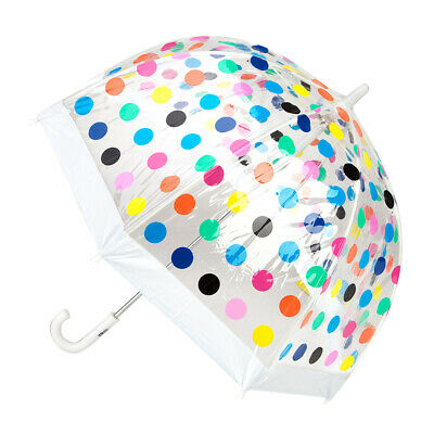 NEW Clifton Multi Spot Kids' Birdcage Umbrella