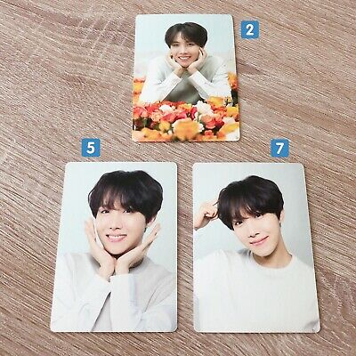 Bts Love Yourself Tour Japan Official Md - Mini Photocards Jhope Hoseok
