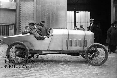 Amilcar factory racer Fratissier 1923 French Grand Prix Bol d'Or photo auto racE