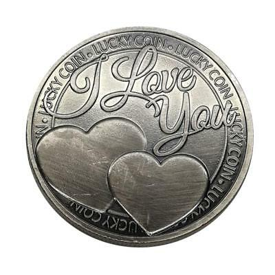 Münzen i love you more than i can say Ancient Bronze Commemorative Coin Gif K4Z9