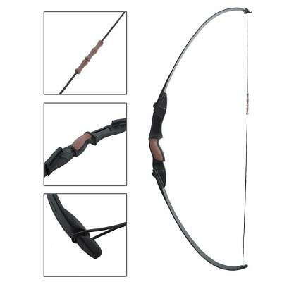"""Takedown Recurve Bow 56"""" Archery Arrow Rest Hunting Bow 25LBS Right&Left For CS"""