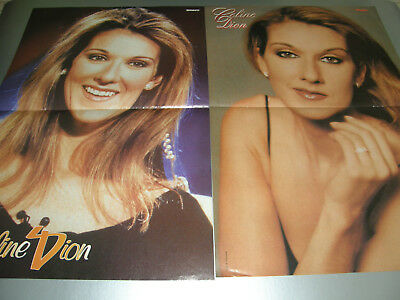 2 CELINE DION poster posters from Europe