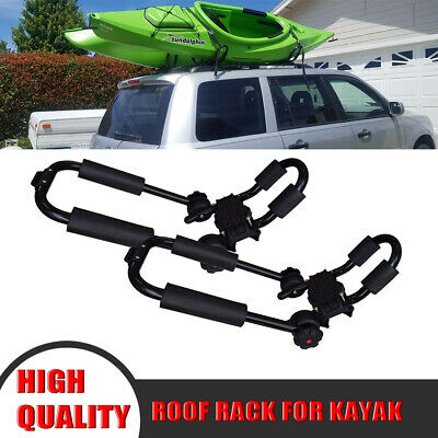 Kayak Roof Carrier >> Canoe Boat Kayak Roof Rack One Pair Car Suv Truck Top Mount