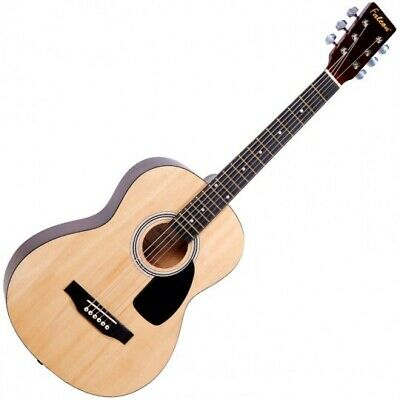 Falcon 3/4 Steel Strung Acoustic Guitar For Beginners/Students - 6 FREE Picks