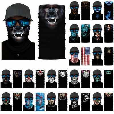 887cef754e8 3D Animal Ski Cycling Snowboard Scarf Neck Warmer Face Mask Balaclava  Bandana