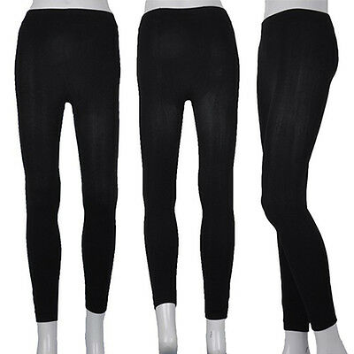 KE_ Lady Women Winter Warm Skinny Slim Stretch Pants Thick Footless Tights Rel