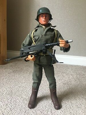 VINTAGE ACTION MAN 40th SOLDIER GREEN JACKET TROUSERS CAP x 5 AMERICAN FATIGUES