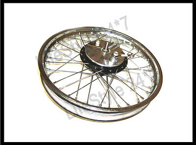 Royal Enfield Half Width Front Wheel And Brake Complete Assembly