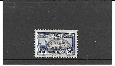 France 1930.avion Flying Over Marseille.timbre Gum Seal Round. Pa.n°6