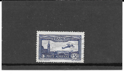 France 1930.avion Flying Over Marseille.timbre Gum Used Condition. Pa.n°6