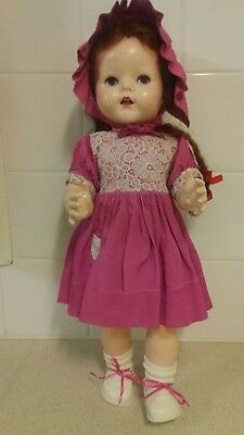 "Pedigree Unmarked 21"" Walker Doll - Head turns as it Walks - Free post Aust only"