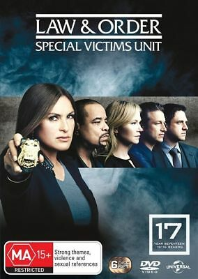 Law And Order - Special Victims Unit : Season 17 (DVD, 2016, 6-Disc Set), REG 4