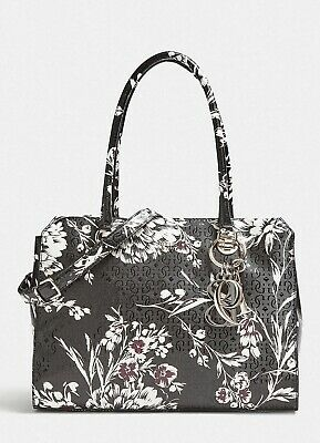 296b3503bf59 GUESS BLACK TOTE Logo signature Bag with gold accents BNWT - £64.99 ...