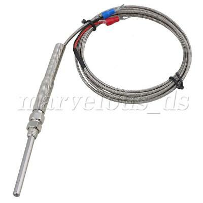 2m K-Type Temperature Controller Thermocouple Sensor Probe 100 to 1000°C