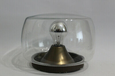 RBZ 70er Design Leuchte/Lampe Glas Glass Lamp Flush Mount 70s Sputnik