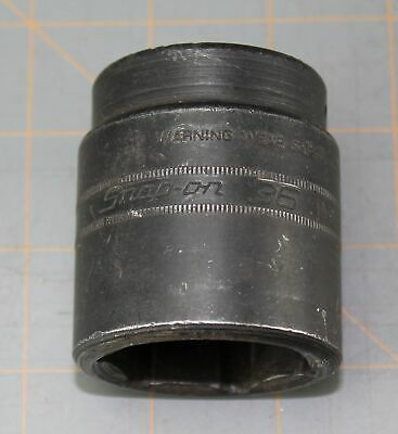 """Snap On Tools 1/2"""" Drive 36mm 6 Point Shallow Impact Socket IMM360"""