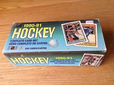 Complete Set 1990 O Pee Chee NHL Ice Hockey Trading Cards Boxed