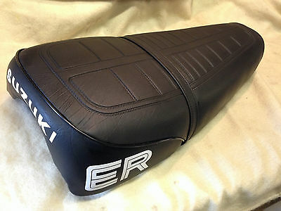 SUZUKI TS250 ER SEAT COVER and STRAP BEST QUALITY