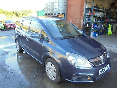 2007 Vauxhall Zafira life cdti (spares or repairs salvage) finace repossession