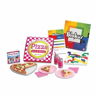 American Girl Doll Pizza Party Set NEW!! Slumber Party Too