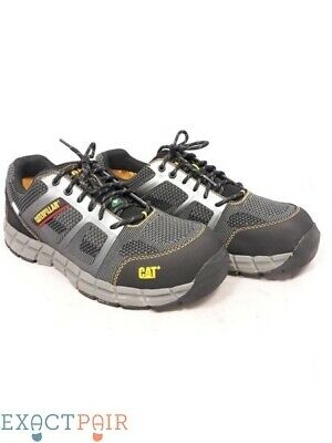2c7b1633a8e CATERPILLAR-CAT PURSUIT LOW Cut STSP Men's Black Work Shoes 10W ...
