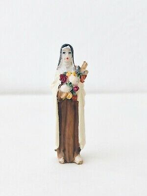 "Beautiful Mini ~ Vintage Plastic RELIGIOUS Figurine~ Early 60's. Italy, 2""H"