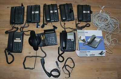 Lot Telephone Fixe Bureau Matra X 6 + Standard Et Alcatel / Office Work
