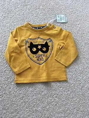 Bnwt Baby Yellow Long Sleeve Top 3-6 Months