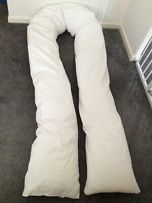 *Pregnancy Sleep Support* Full Body Pillow 350cm White *Cuddles Collection*