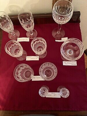 Lot Sets Waterford (Colleen) Crystal
