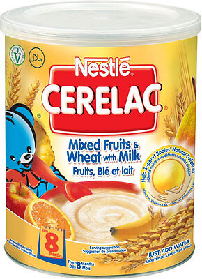 1kg Nestle Cerelac Mixed Fruits & Wheat with Milk