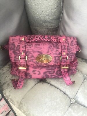 Mulberry Peony Pink Leopard Regular Alexa Bag Limited Edition Great  Condition 3c8ca95cfd84c