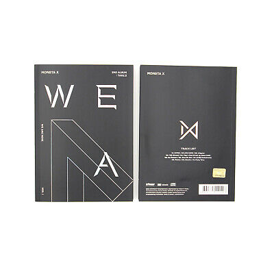 [MONSTA X]2nd Album Take.2 'WE ARE HERE'/VER.1/No Photocard/Poster Option