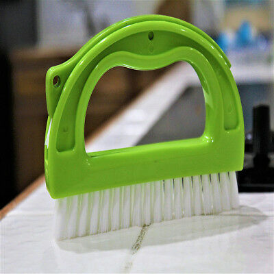 2 in 1 Plastic Multi-functional Tile Grout Brush Cleaner Cleaning Brush Set LH