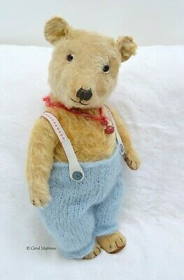 Old antique / vintage Chiltern Teddy bear  - 21 inches tall - 1930's with outfit