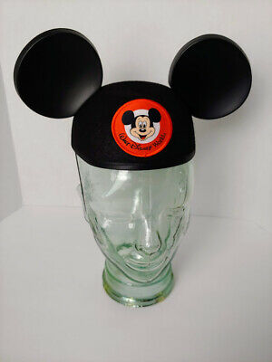 8f7dcfdb9b0 Walt Disney World Mickey Mouse Ears Hat Classic Black Park Authentic youth  NEW