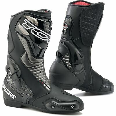 TCX S-Speed Sports Track Motorcycle Boots - Black 47